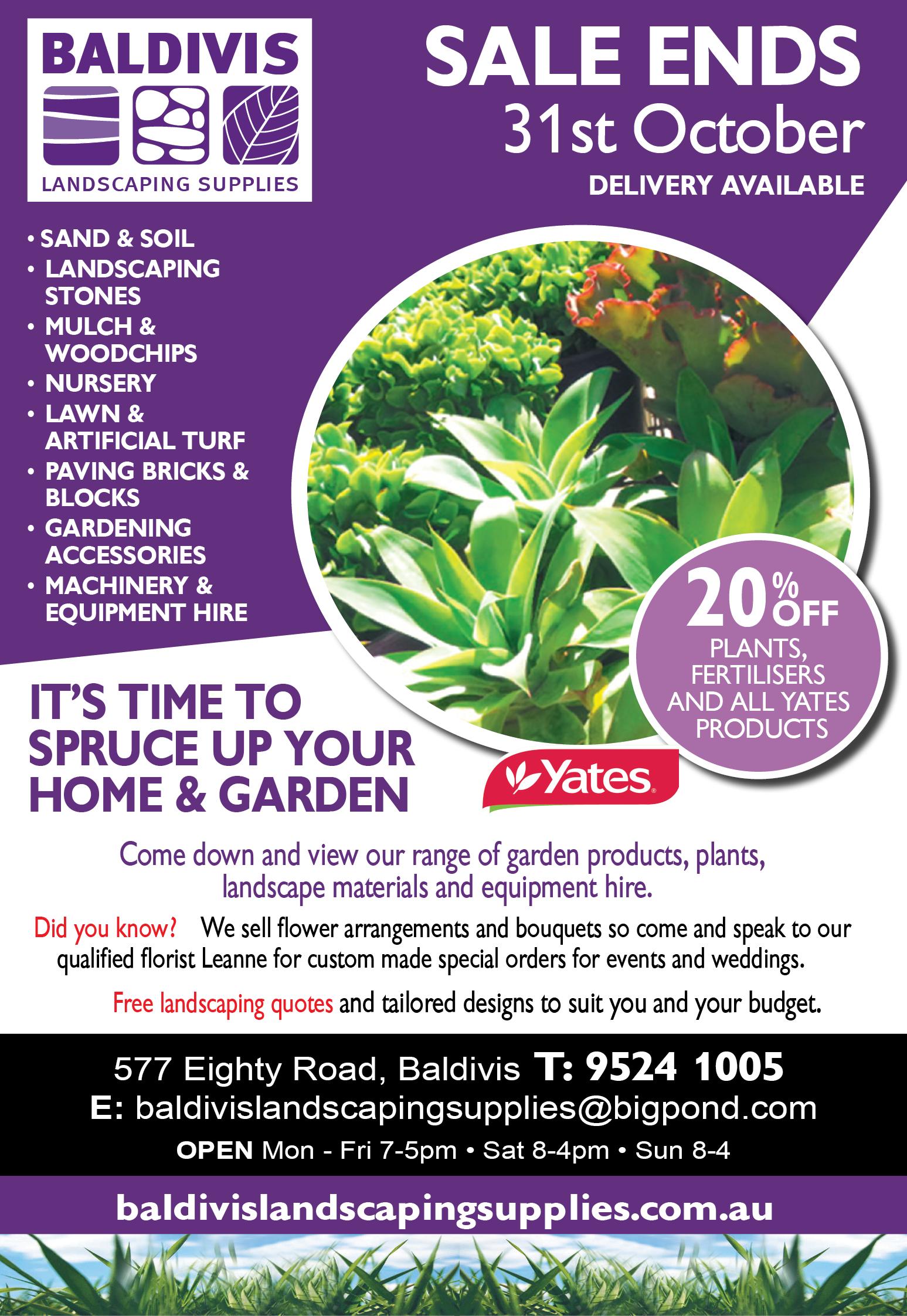 20% Off Plants Advert-01