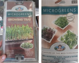 Microgreen Grow Trays + seeds